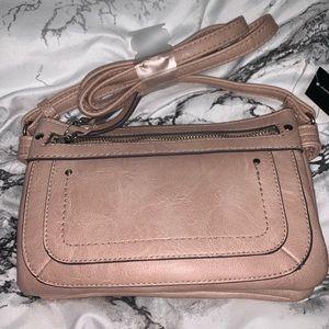 Handbags - New Pink/Nude Small Cross-Body Bag